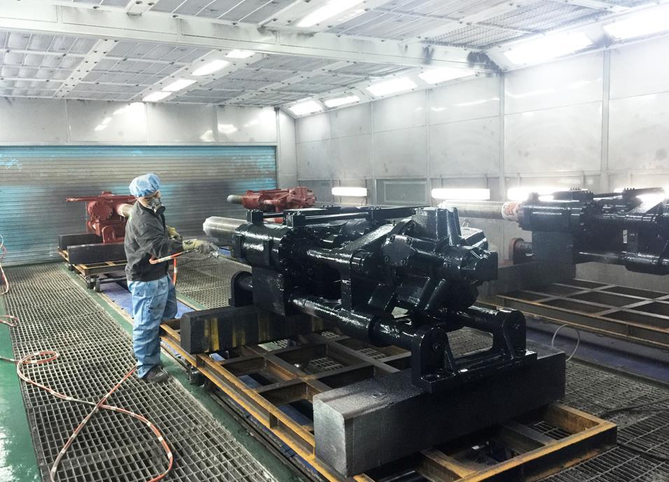 江苏机械喷漆设备